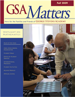 Matters Fall 2009 cover