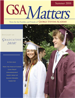 Matters Summer 2010 cover