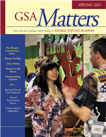 Matters Spring 2011 cover
