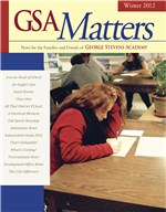 Matters Winter 2012 Cover