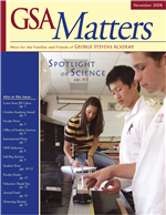 Matters Nov 2008 cover